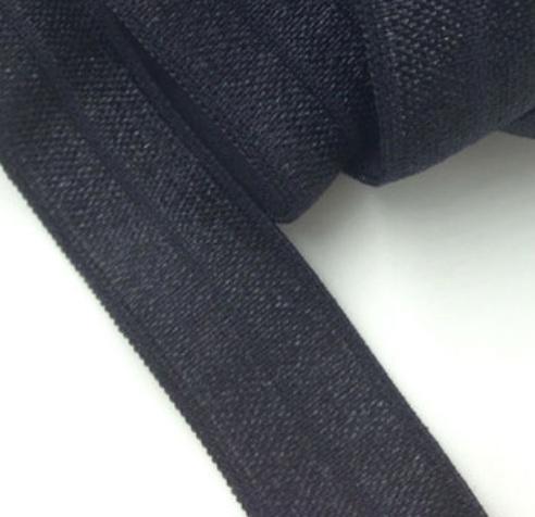 Elastiek zwart 15mm