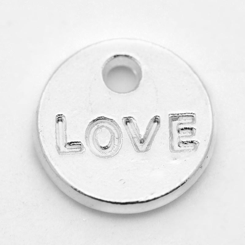 Bedel love rond zilver