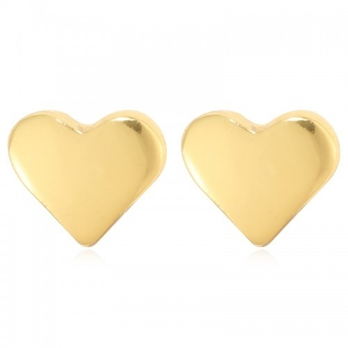 Oorbellen hearts goud