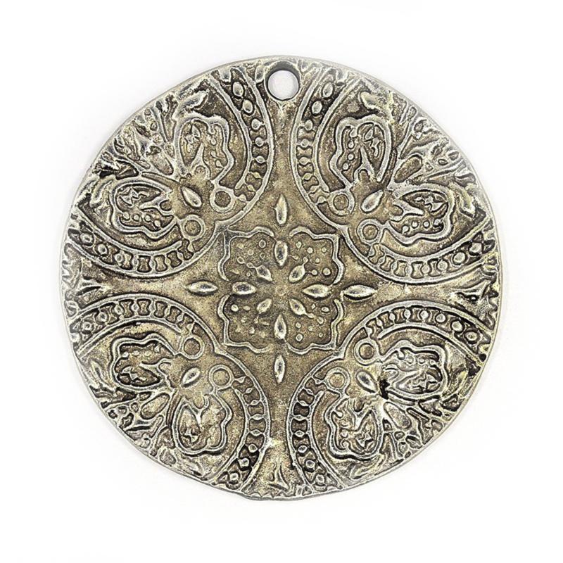 Bedel barok antiek zilver