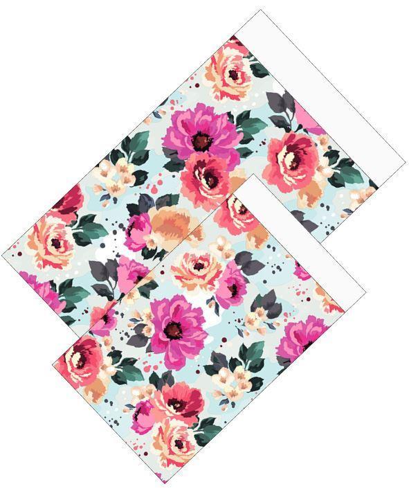 Cadeauzakjes Summer Flowers 12x19cm