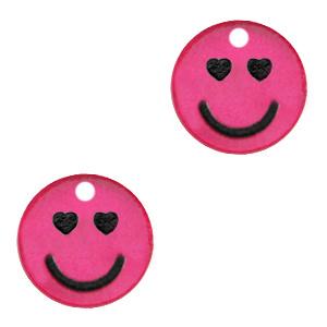 Plexx bedels smiley hearts Magenta pink