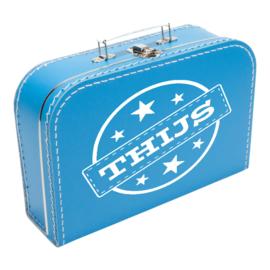 "Koffertje met stempel ""Thijs"""