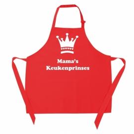 Kinderschort - Mama's keukenprinses