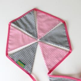 Vlaggenlijn Roze Grijs