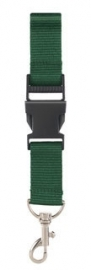 Keycord Donker Green