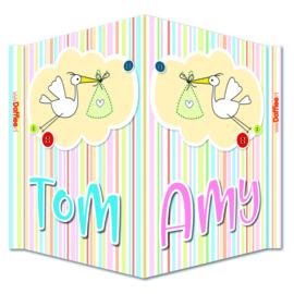 Tom en Amy
