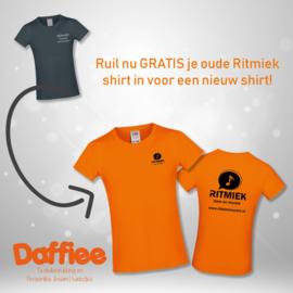 T-shirt Ritmiek Muziek - meisjes omruilshirt