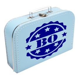 "Koffertje met stempel ""Bo"""