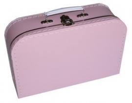 Kinder koffertje 30cm baby roze