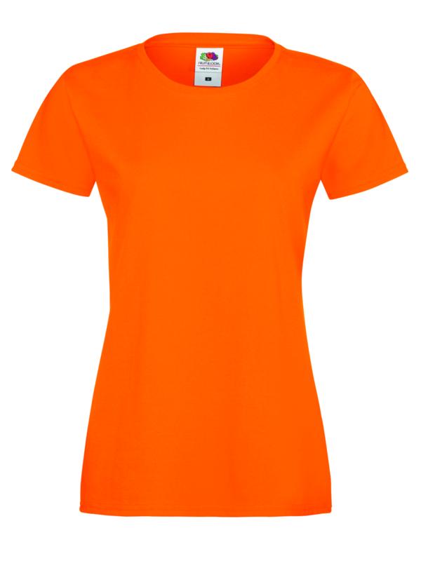 Sofspun woman oranje