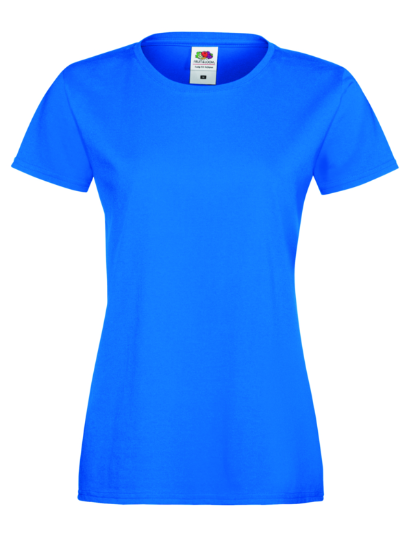 Sofspun woman royaal blauw