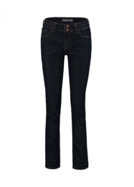 Jeans dark denim straight leg
