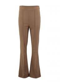 Flaired broek Camel