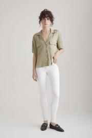 C.O.J sophia skinny white