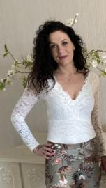 Body lace white