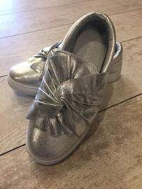 Sneaker zilver metallic