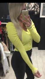 Vest bright yellow