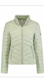 Jacket soft green florentine