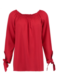 Blouse Pia red off Sholder