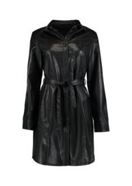 Dress leatherlook