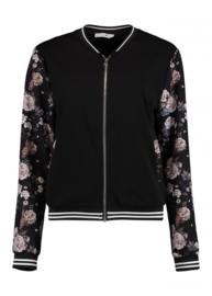 Bomber jacket black  rose