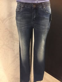 Jeans blue Seven hoge taille