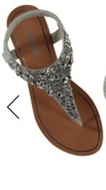 Sandaal anica silver