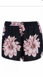 Shorts black flower