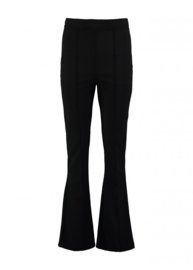 Flaired pantalon zwart