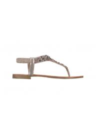 Hailys sandalen goud steentjes