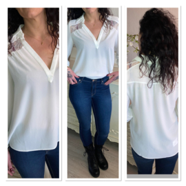 Morgan blouse wit