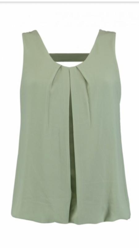 Top elena soft green