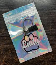 Sleutelhanger hond/naam