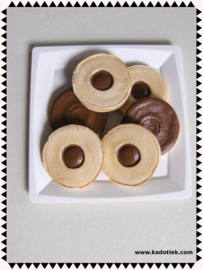 Chocolade ronde koekjes