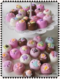 Kawaii bonbons rond