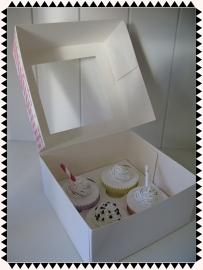 Cupcake cadeau verpakking
