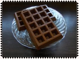 Chocolade luikse wafels