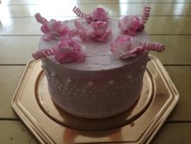 Brocante taart - bloem