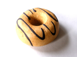 Donuts met chocolade swirl