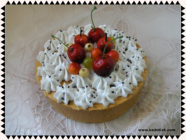 Vruchten cake taartje
