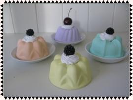 Nep gebak - Vrolijke ronde taartjes