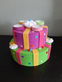 Cadeau vilt taart