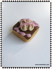Cake brownies walnoot