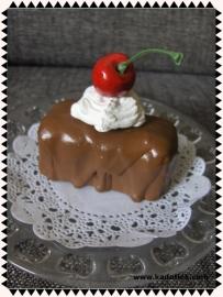 Mini kersen taartje