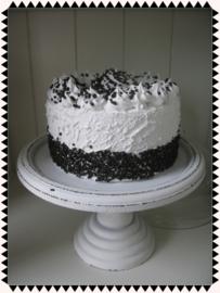 Nep gebak - Een chocolade slagroomtaart