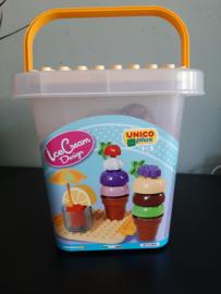 Unico bouwset ijsjes en cocktails