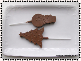 Chocolade lolly