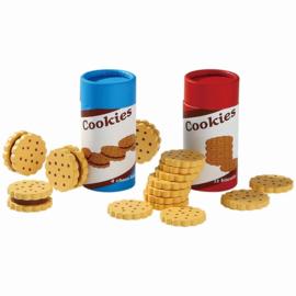 Koekjes en Biscuitjes in een trommeltje