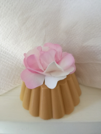 Brocante bloem gebak - 2